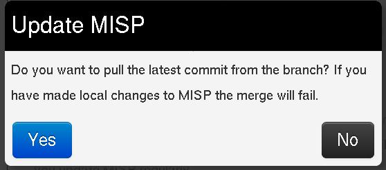 FAQ · User guide of MISP Malware Information Sharing Platform, a ...